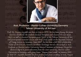دکتر پویان آزاده عضو هیات ژوری بین المللی فستیوال پیانو پرستانتیا شد